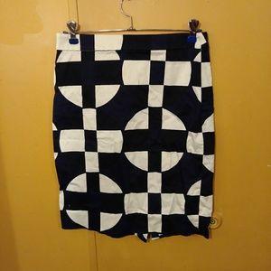 Geometric style skirt